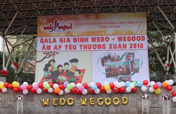 Gala gia đình Wedo Wegood - Ấm áp yêu thương xuân 2018