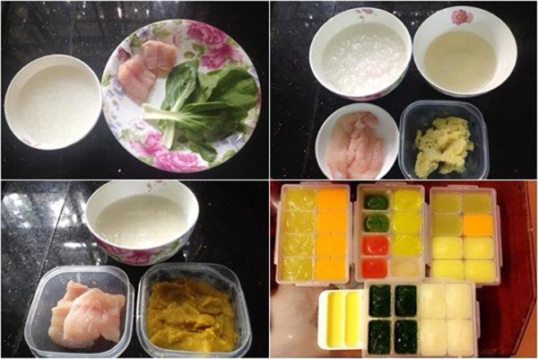 Bữa ăn dinh dưỡng cho trẻ